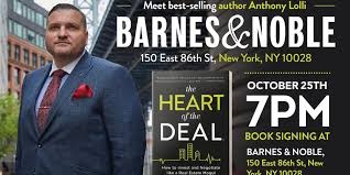 Barnes And Noble Roosevelt Field Mall Heart Of The Deal Book Signing At Barnes U0026 Noble With Real Estate