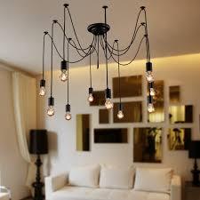 Interior Antique Ceiling Light Fixtures - lightinthebox vintage edison multiple ajustable diy ceiling spider