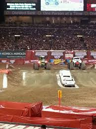 monster truck show anaheim stadium angel stadium section t211 home of los angeles angels of anaheim