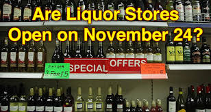 are liquor stores open on november 24 earn the necklace