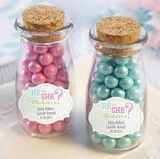 jar favors gender reveal personalized milk jars baby shower favors