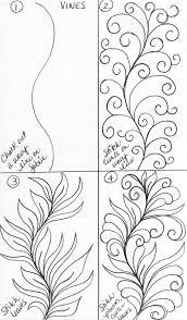 luann kessi sketch book vine designs