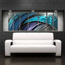 modern ideas modern metal wall art sensational typhoon large