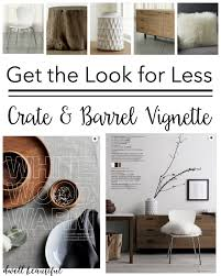 get the look for less crate and barrel look alikes dwell beautiful
