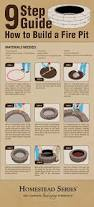 How To Make A Rock Patio by The 25 Best Dyi Fire Pit Ideas On Pinterest