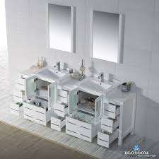 Bathroom Vanity With Side Cabinet Sydney 84