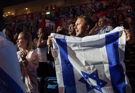 Flag Of Jerusalem Jerusalem Christian Evangelicals In Jerusalem Show Love For Israel