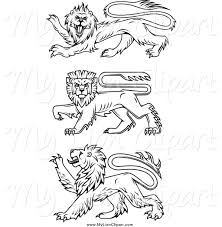 royalty free color page stock lion designs page 2