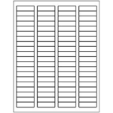free avery templates return address label 80 per sheet dose