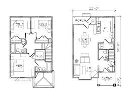 Narrow Block Floor Plans 2 Floor House Plan Design For Narrow Land 4 Home Ideas