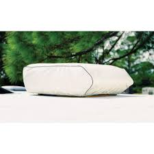 Exterior Central Air Conditioner Cover - coleman mach plus a c cover polar white adco 3023 air