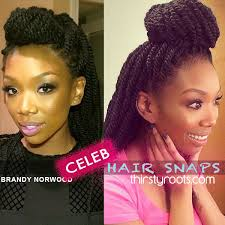 pictures of marley twist hairstyles brandy marley twists braids