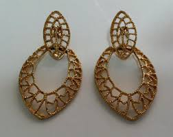 gold plated earrings gold plated earrings etsy