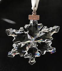swarovski 1139970 scs golden snowflake