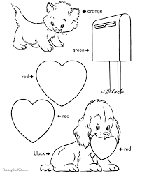 valentines coloring sheets preschool project awesome