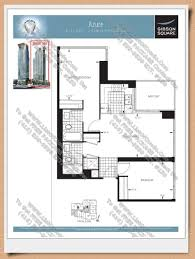 Azure Floor Plan Gibson Square Home Leader Realty Inc Maziar Moini Broker