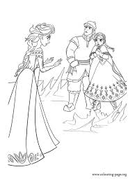 find this pin and more on color pages frozen elsa anna and