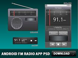 android fm radio android fm radio application psd psd