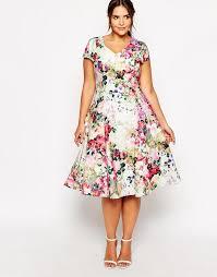20 plus size floral dresses that scream spring floral spring