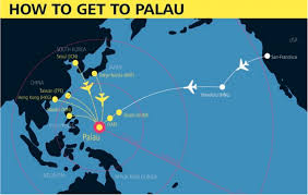 Hawaiian Airlines Route Map by How To Get To Palau 7 Gateways To Get You Into Palau Infographic