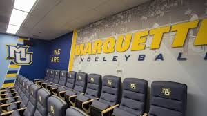 marquette volleyball locker room u2013 thysse