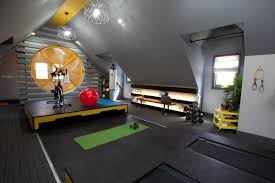 tips for transforming the attic into a gym