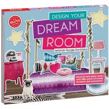klutz design your dream room craft kits
