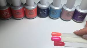 ibd gel polish colours part 1 youtube