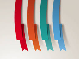 colorful ribbon ribbons 7vectors