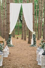 wedding backdrop on a budget genius ideas for an outdoor wedding ceremony backdrop