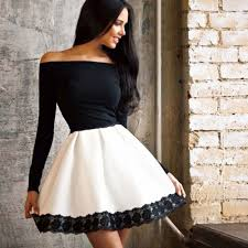cyber monday steal alert get this black and white party frock on