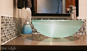 all things led kitchen backsplash home tour modern powder room blue i style creating an organized