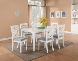White Dining Room Set Contemporary Simple White Dinette Sets Orchidlagoon Com
