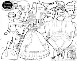 printable up coloring pages to print dress doll cartoons barbie