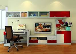 Tv Stands With Bookshelves by Computer Desk And Tv Stand Combo Google Search Den Pinterest