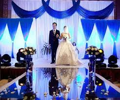 chic silver and blue wedding decorations wedding decorations in