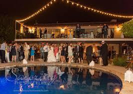 Hton Bay Landscape Lighting The Reception The Wedding Of Alia Dave San Diego Mission Bay