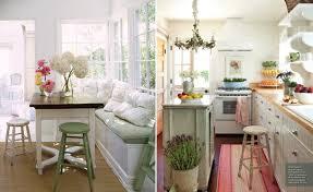Cottage Chic Kitchen - shabby chic kitchen interior home page