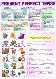 english exercises business english simple past vs present perfect