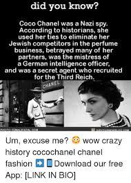 Coco Chanel Meme - 25 best memes about third reich third reich memes