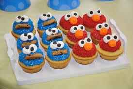 elmo cupcakes food cookie and elmo cupcakes