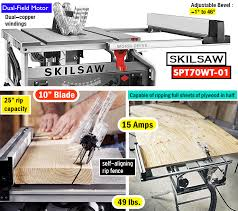 Skil 15 Amp 10 In Table Saw Best Table Saw For The Money Top Rated Portable Table Saws