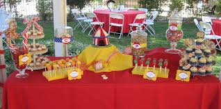 Birthday Party Decorations In Home by Interior Design New Circus Themed Birthday Party Decorations