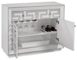 Mirrored Bar Cabinet Shadowbox Wine Bar Cabinet Contemporary Wine And Bar