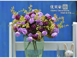 artificial flower aliexpress buy 15 heads fashion bronzier artificial