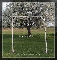 wedding arch kit white birch wedding arch white birch arbor complete kit for indoor