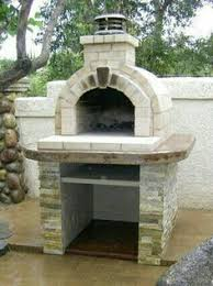 Build Brick Oven Backyard by The Riley Family Wood Fired Diy Brick Pizza Oven And Fireplace