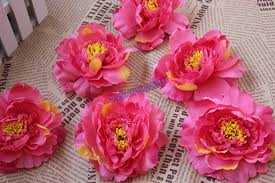 wholesale artificial flowers 11cm handmade large silk peony flowers wholesale artificial peony