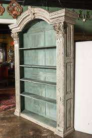 old bookcases for sale pair of louis xiv french carved painted open bookcases made with old