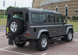 land rover rear file land rover defender 110 station wagon 2016 rear jpg